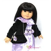 "Found it at Wayfair - Mystic Dress, Caplet and Handbag Doll Outfit for 18"" American Girl Doll"