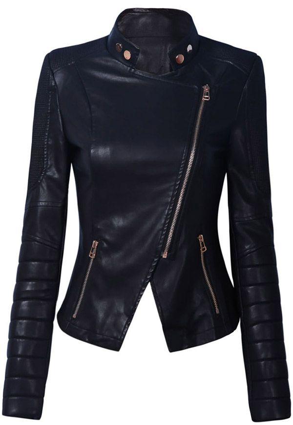 Blouson Motard 2019 Similicuir Jackets Bikgirls En Femme rPrqz