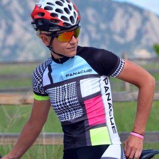 5fa42972f Women wearing Panache Mondrian Cycling Jersey