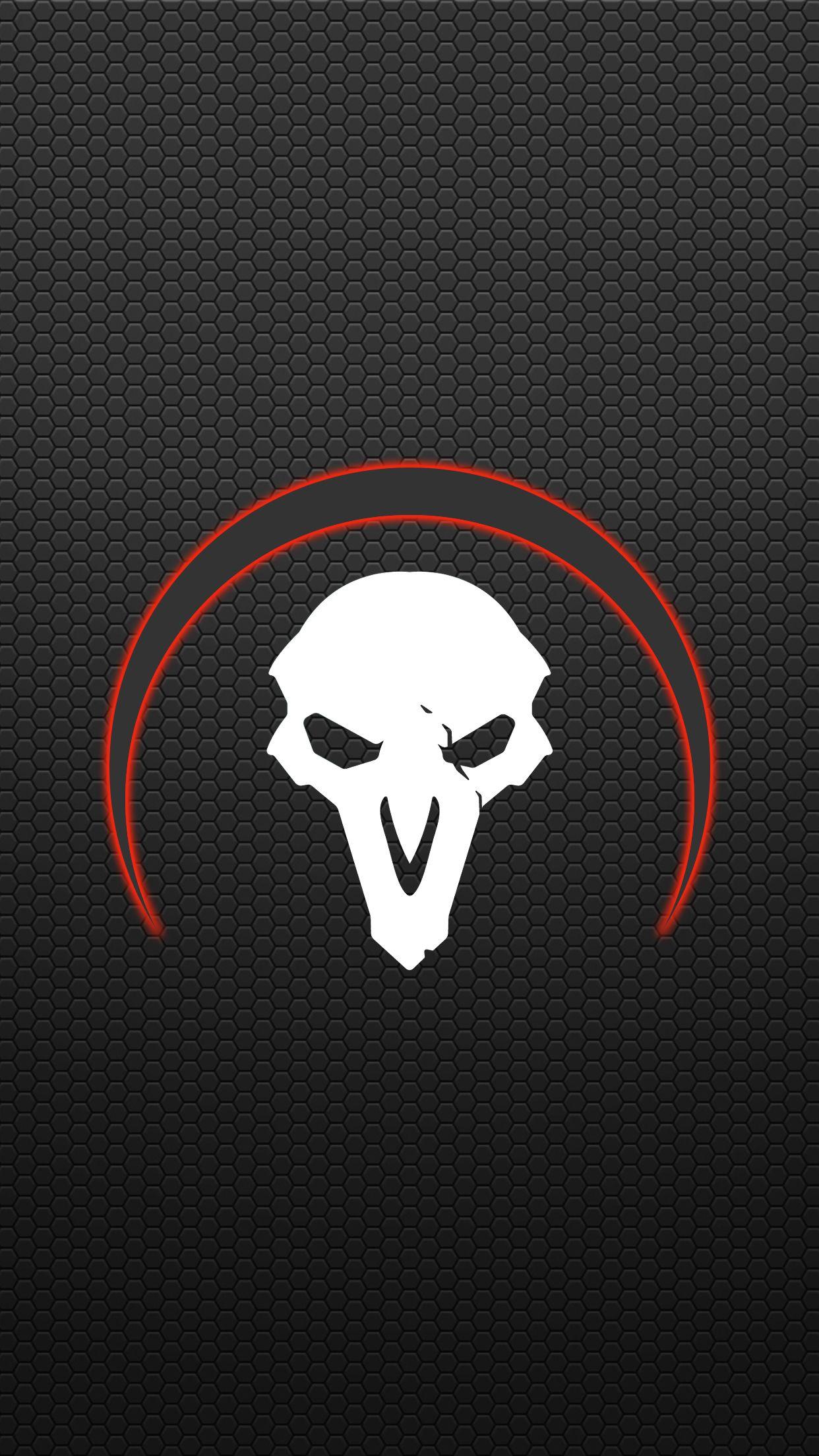 Overwatch Reaper Mobile Wallpaper Overwatch