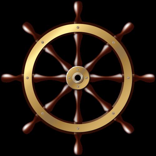 Ship Wheel Png Clip Art Bateau Bateaux Navire