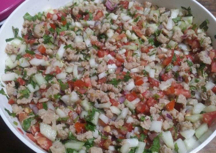 Ceviche De Soya Receta De Gabriela Marquez Receta Receta De Ceviche Recetas Vegetarianas Comida Vegana Recetas