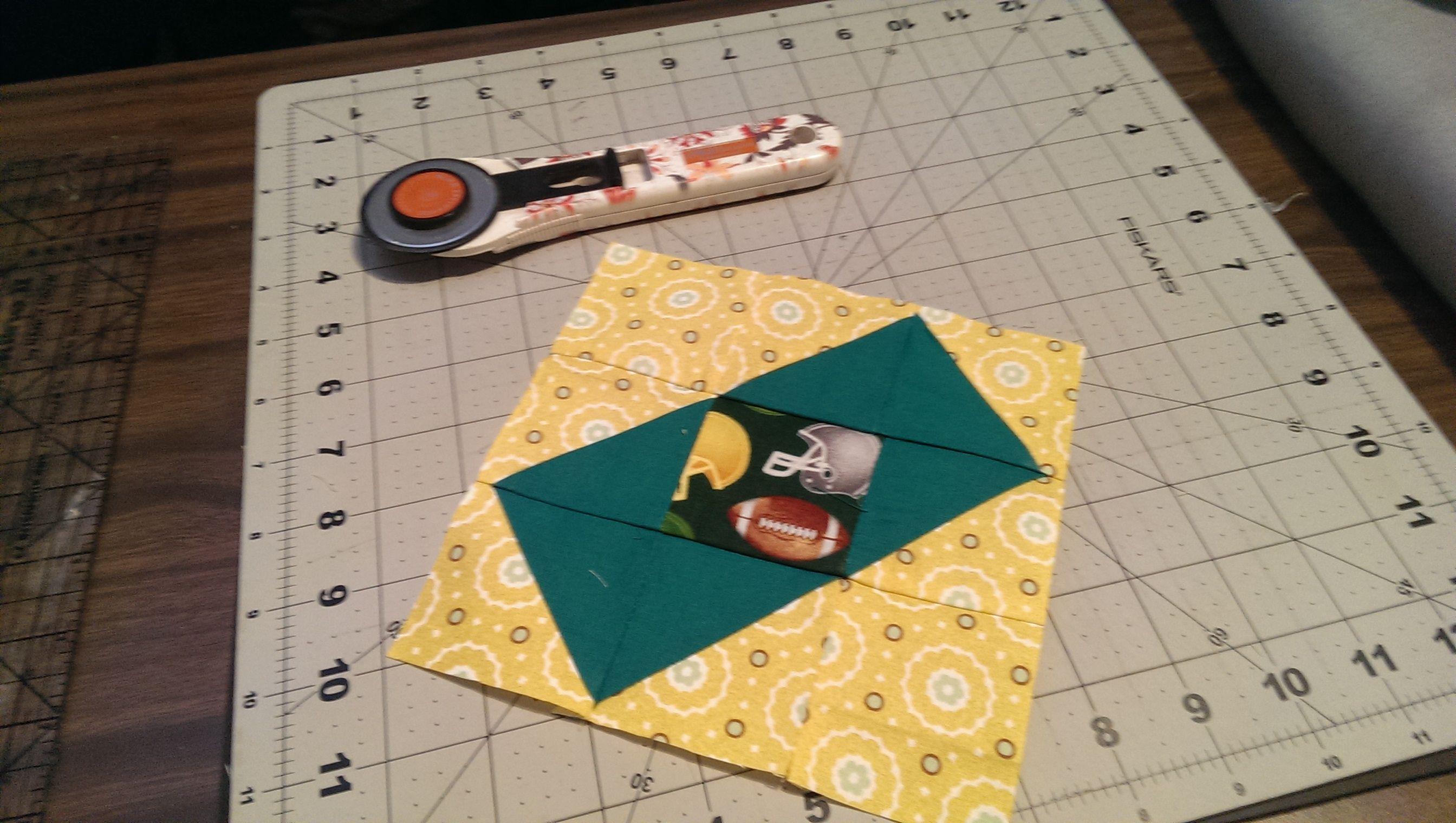 Green Boxed Kite