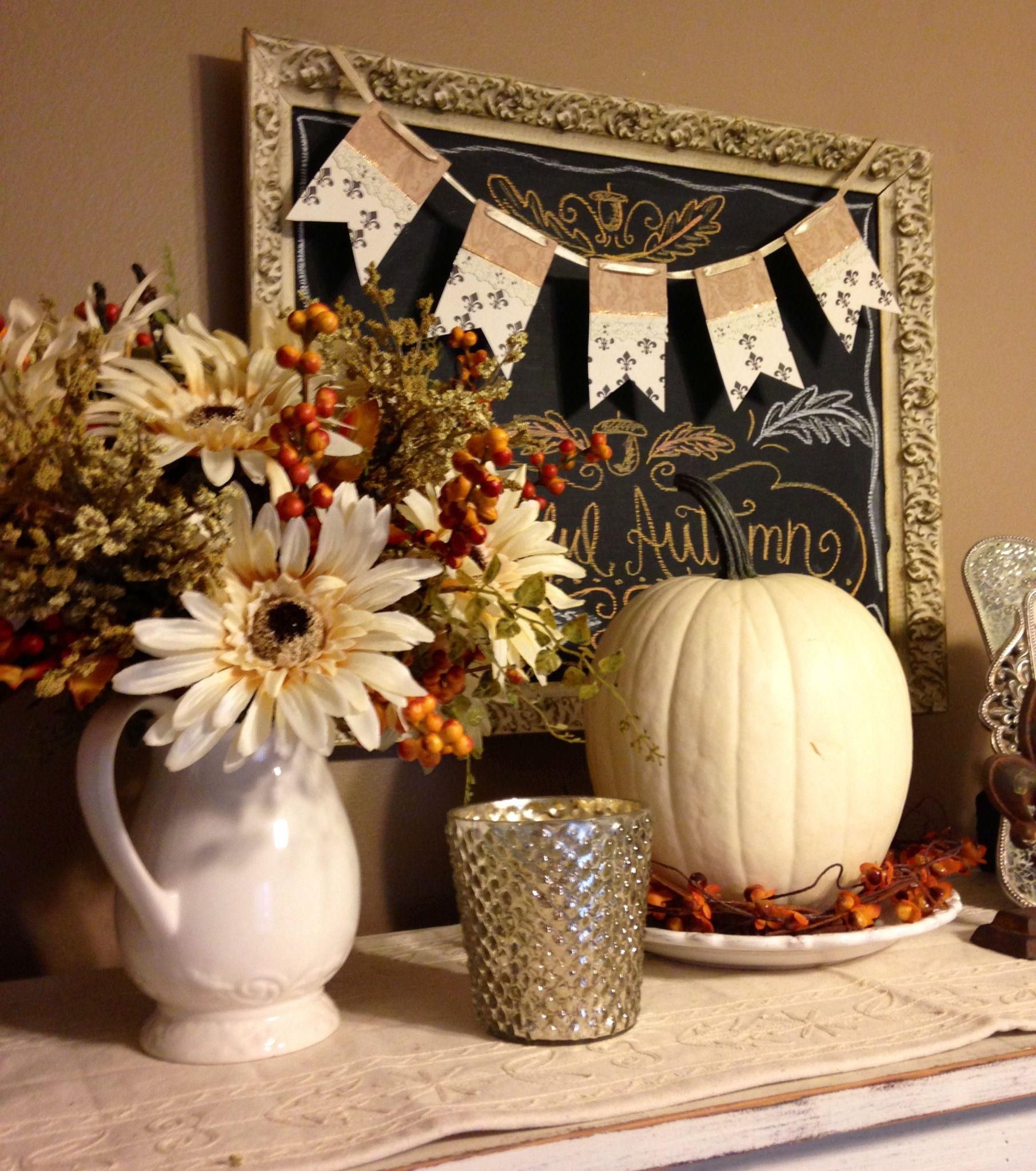 Simple Kitchen Table Decorations