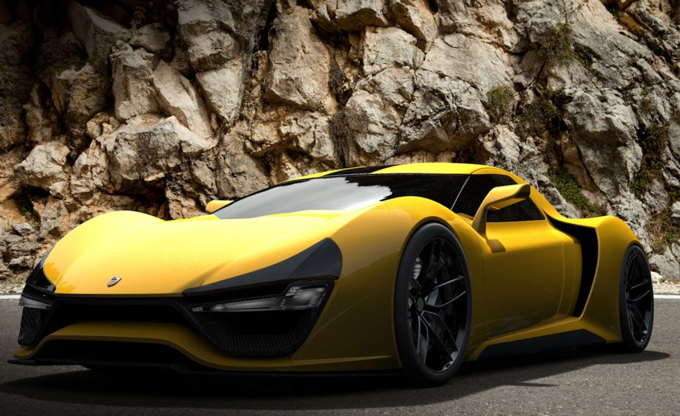 The Trion Nemesis Is Proof Americans Can Make Supercars Super Cars Sport Cars Classic Cars