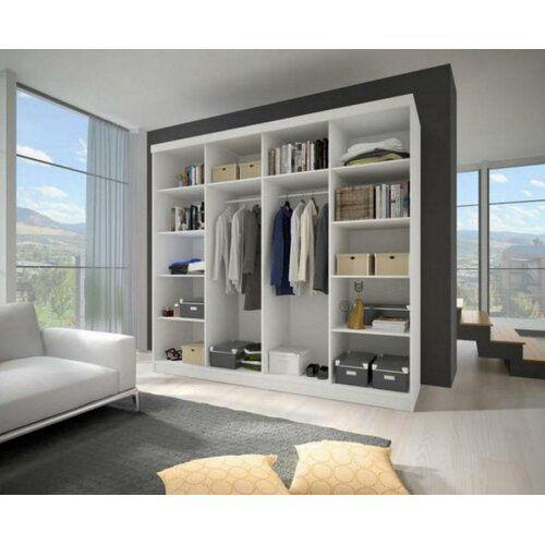 Mercury Row Gulledge 2 Door Sliding Wardrobe Sliding Wardrobe Modern Bedroom Sliding Doors