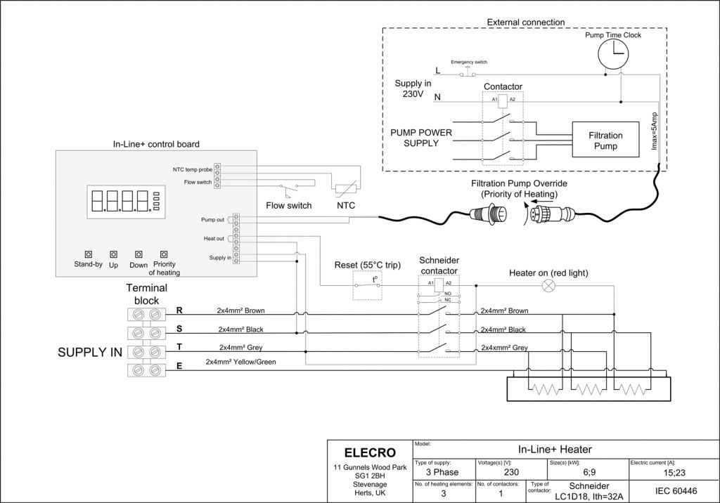 Wiring Diagram For Immersion Heater:  Cozy,Design