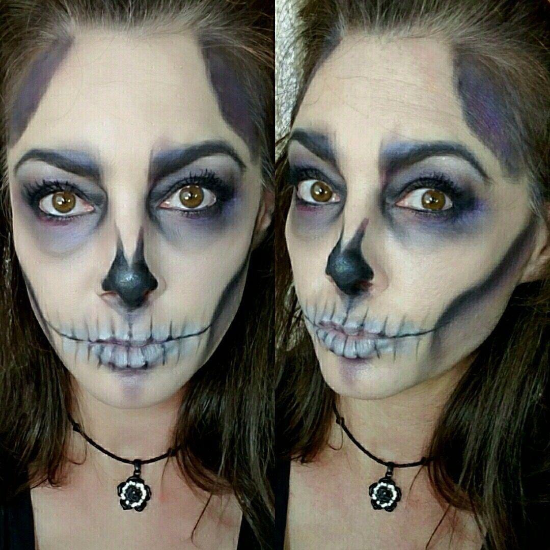 Halloween makeup look using Younique cosmetics. Ditch the ...