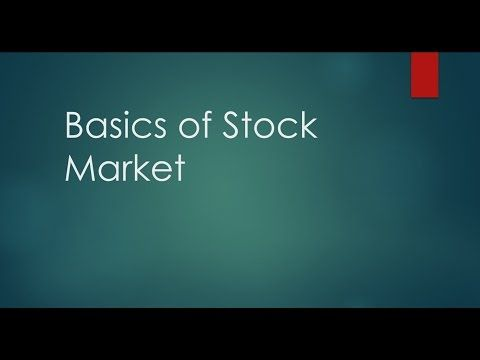 Basics of Indian Stock Market in Hindi (Part-1)