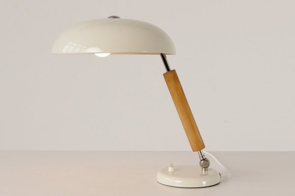 Adjustable White Table Lamp From Belmag 1930s In 2020 White Table Lamp Table Lamp Lamp