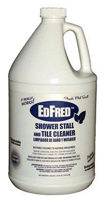 Edfred Shower Stall Tile Cleaner 128 Oz As Shown Tile