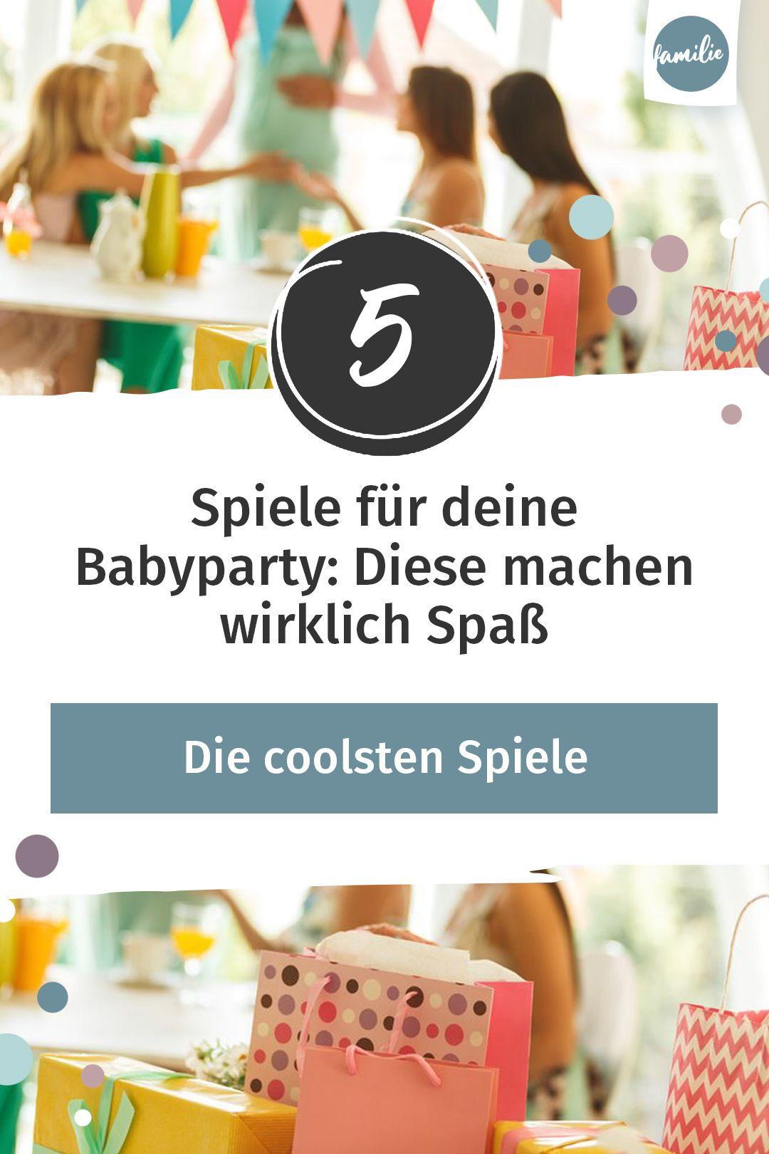 Babyparty Spiele: Diese fünf machen wirklich Spaß