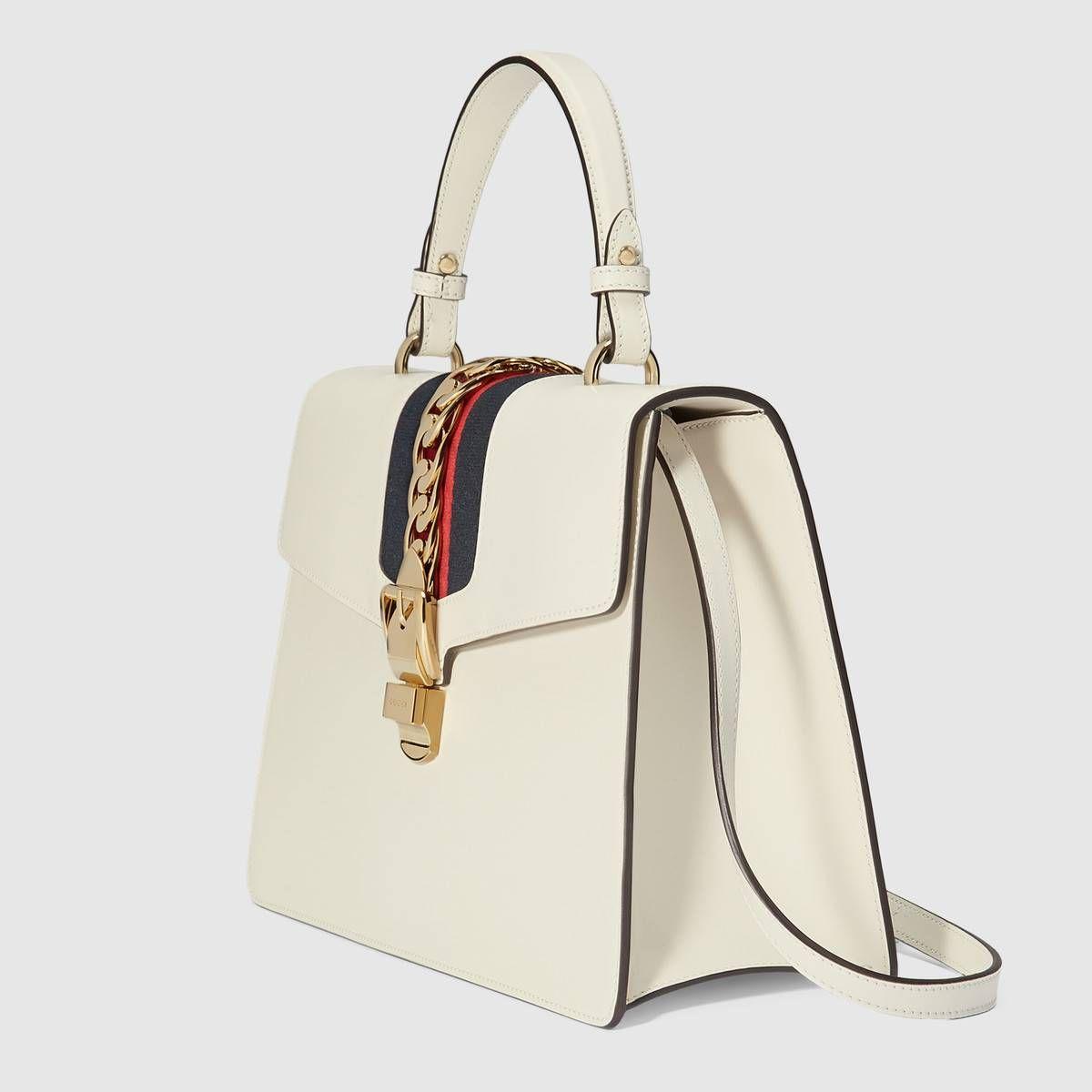 193546b8ea2 Gucci Sylvie medium top handle bag Detail 2