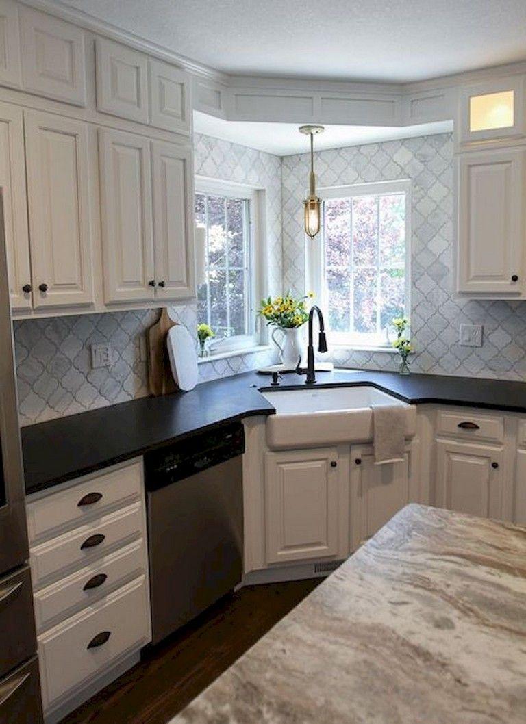 68+ Top Modern Farmhouse Kitchen Sink Ideas Kitchen