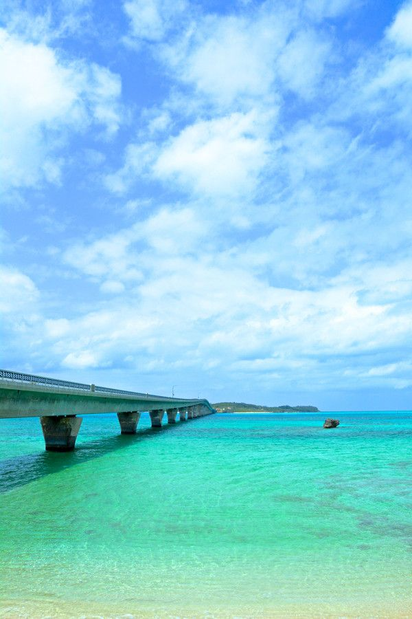 Ikema Long Bridge, Okinawa, Japan