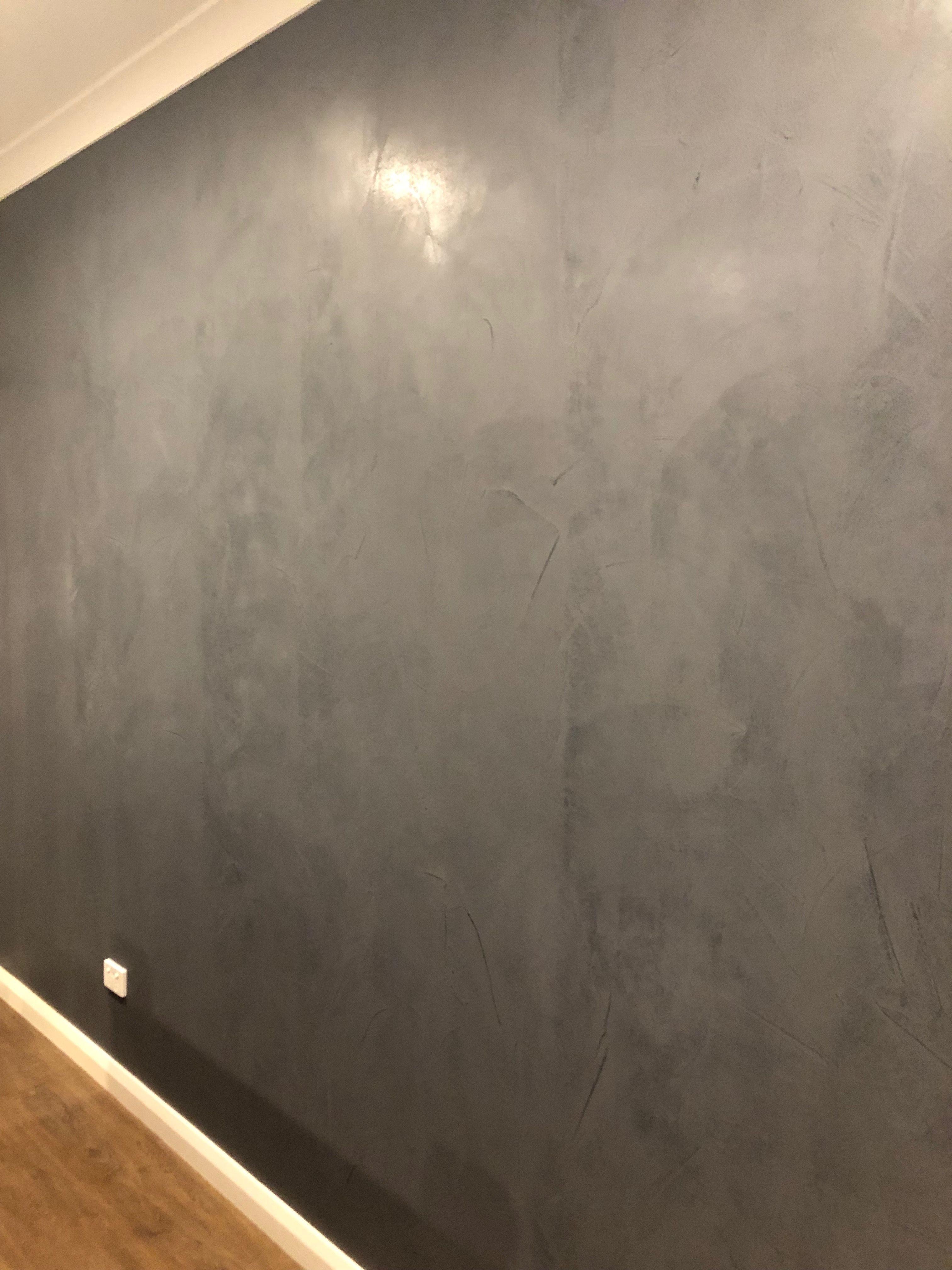 Dulux Concrete Effect Paint In Onyx Edge Concrete Wall Panels Concrete Effect Paint Concrete Wall Paint