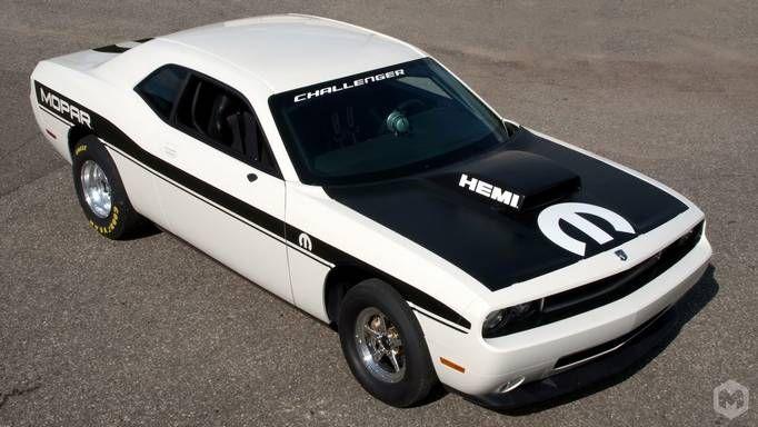 Custom Dodge Challenger Wallpaper Black And White Hemi Edition