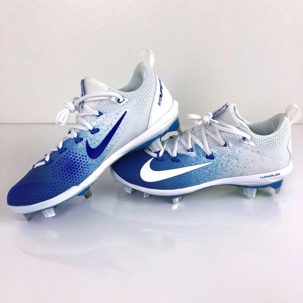 wholesale dealer 9378c db707 Nike Lunar Vapor Ultrafly Elite Baseball Cleats Size 8 Mens Blue 852686 417  New  Nike