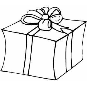 Christmas Gifts Coloring Page Big Gifts Christmas Gifts