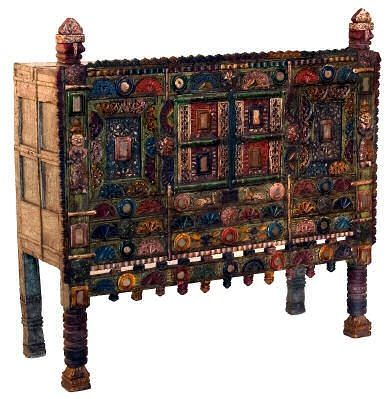 Exceptional Painted Indian Furniture.furniture India. Online Shopping. Beds. Tables.  Sofas.