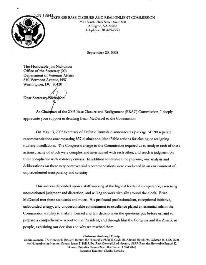 Executive Correspondence General Brac Staff Appreciation Thank You