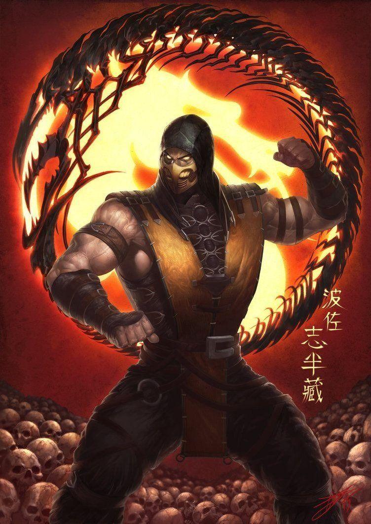 Scorpion, el mejor Ninja de Mortal Kombat - Taringa!