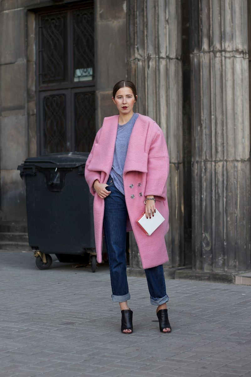 Coats, Pink and Outfit on Pinterest