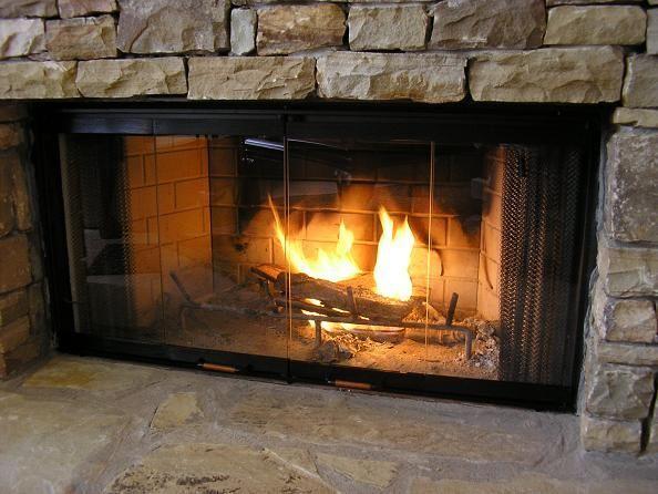 Heatilator Dm1742 Black Glass Fireplace Doors Supreme Fireplaces