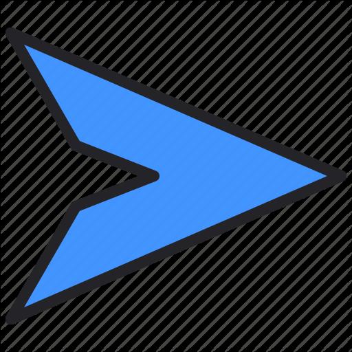 Arrow Interface Paper Plane Send Icon Download On Iconfinder Interface Icon Paper Plane