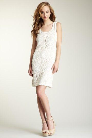 Annalee + Hope Crochet Knit Dress by Black & White: Apparel on @HauteLook $45
