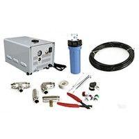 20' High Pressure Misting System Kit - (10 Misting Nozzles