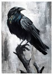 norse raven tattoo - Google Search