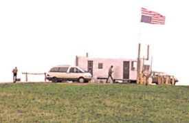 March 25 An 81-day long standoff begins between antigovernment Freemen and federal officers in Jordan, Montana.