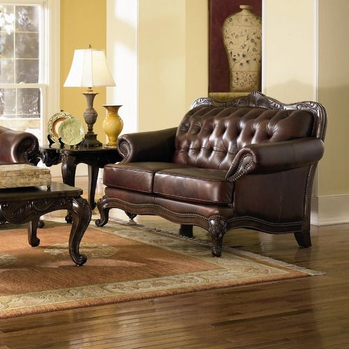 Strange Two Of These Wildon Home Valencia Leather Loveseat Gmtry Best Dining Table And Chair Ideas Images Gmtryco