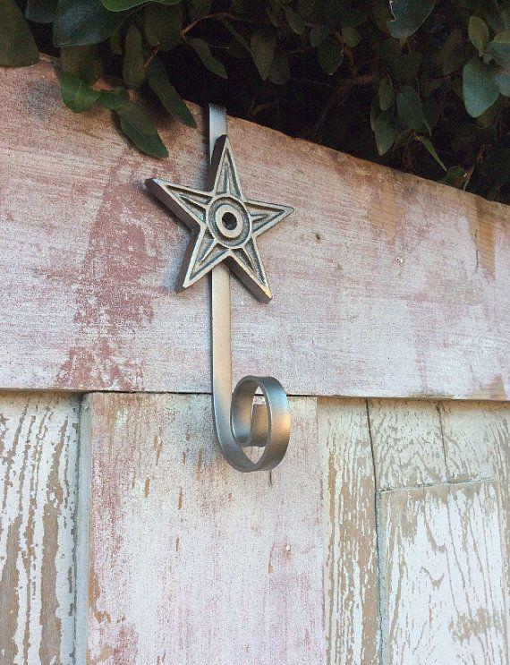 Star Wreath Hanger Wreath Holder Wreath Hook Hanger For By Keleas Door Wreath Hanger Wreath Hanger Metal Wreath