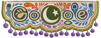 Google Doodle of the Day - Pakistan Independence Day 2012