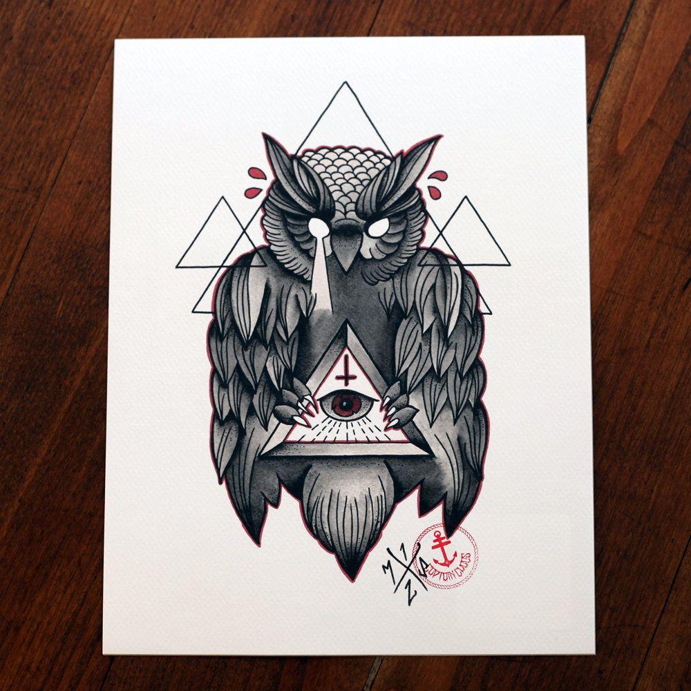 illuminati owl tattoo designs wwwimgkidcom the image