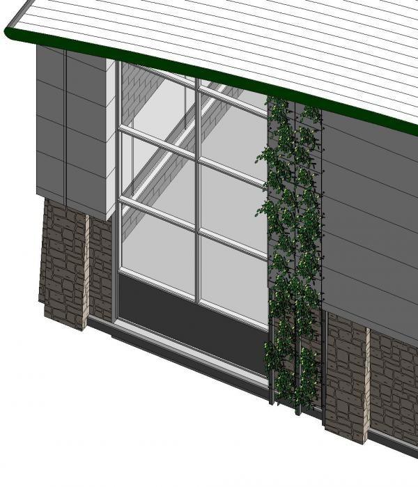 Object Vertical Green System Revit Architecture Architecture Program Autodesk Revit