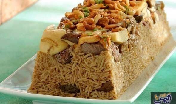 مقلوبة اللحم Food Recipes Cooking