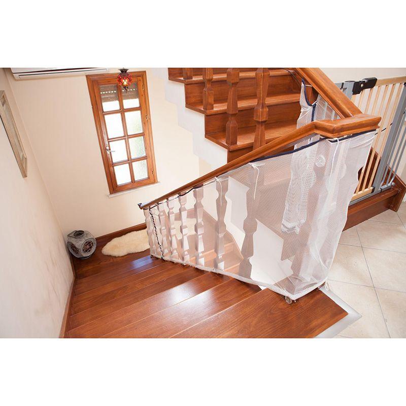 Del Cabrito Del Niño De Protección Cerca De La Escalera Balcón Neta Valla De Seguridad Del Bebé De Seguridad Del Bebé E Child Protection Stairs Baby Protection