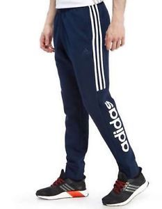 ca5d962d7 New With Tags Men's Adidas Athletic Gym Muscle Pants Joggers SMU Linear  Stripe
