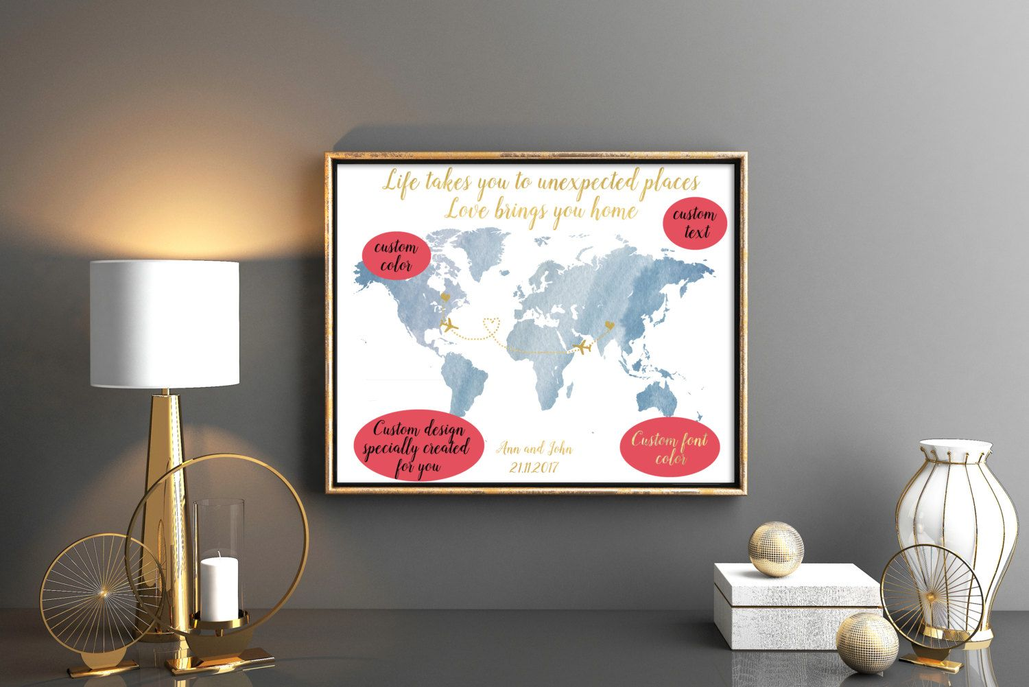 Map guest book world map guest book map wedding guest book wedding blush pink wedding guestbooks wedding guest book world map guest book world map wedding wedding guestbook map wedding map guest book by kompostela on etsy gumiabroncs Image collections