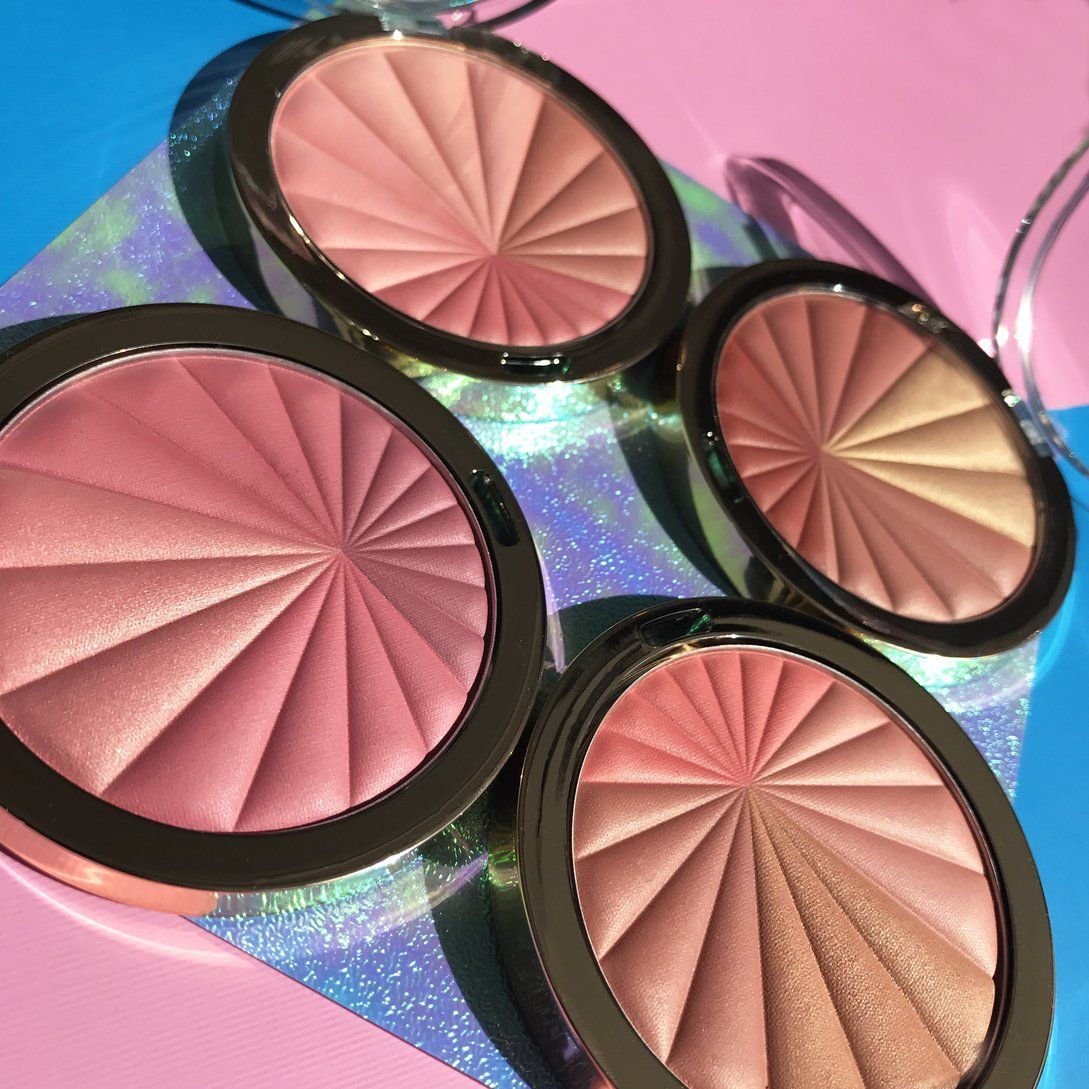 Color harmony online - Milani Cosmetics Color Harmony Blush Palette 4 Tone Sculpt Shape And Highlight Blush Palette That Comes In Four Colors 01 Pink Play 02 Bron
