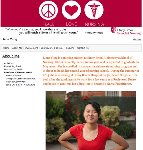 Eportfolios At Stony Brook University Eportfolio Nursing Students Stony Brook University