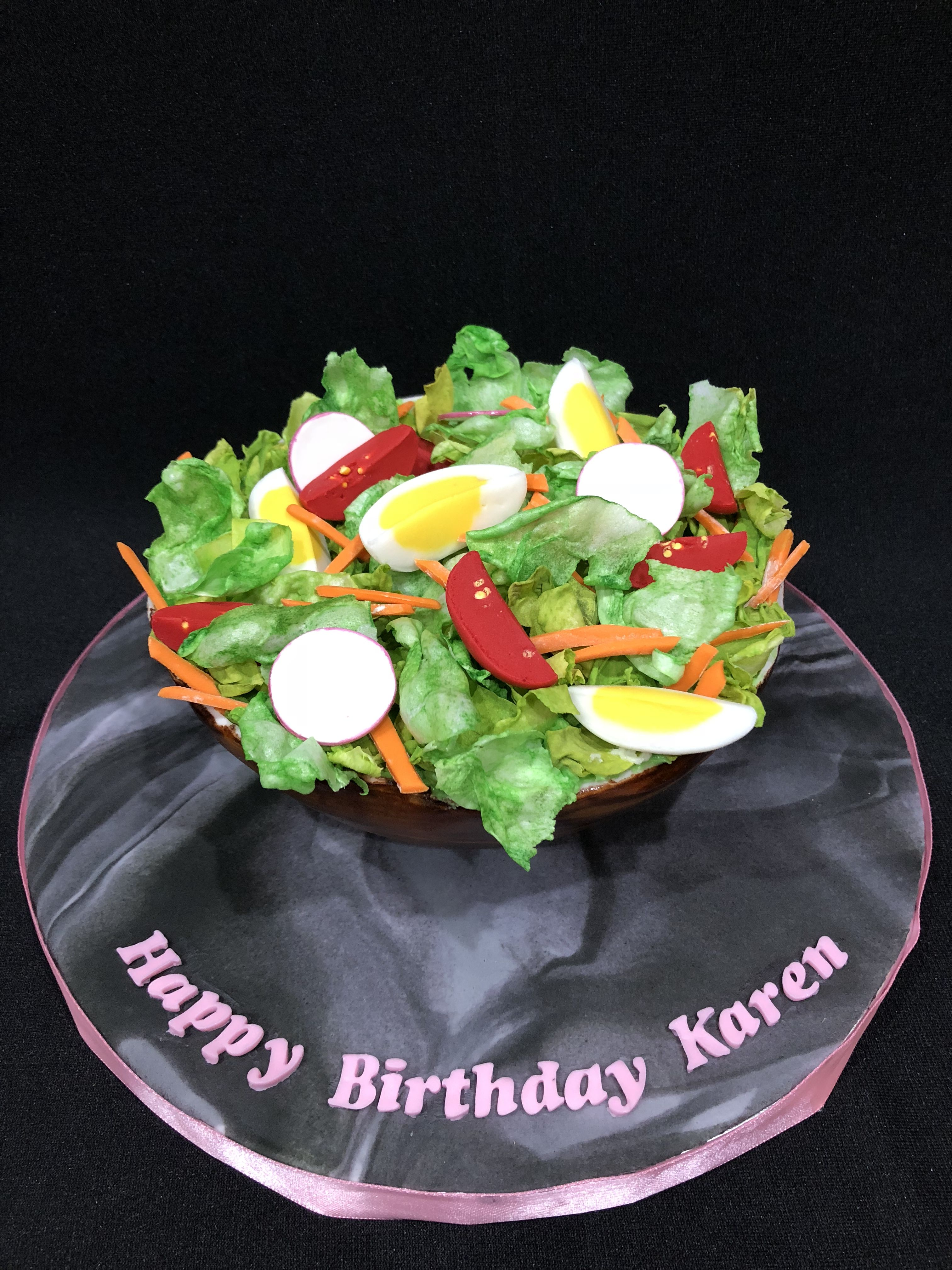 Salad Cake Birthday Cake That Looks Like A Salad Cake Designs In