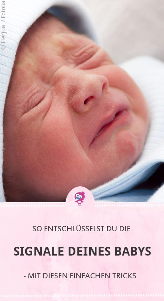 Lexikon der Babysignale - Das musst Du unbedingt wissen
