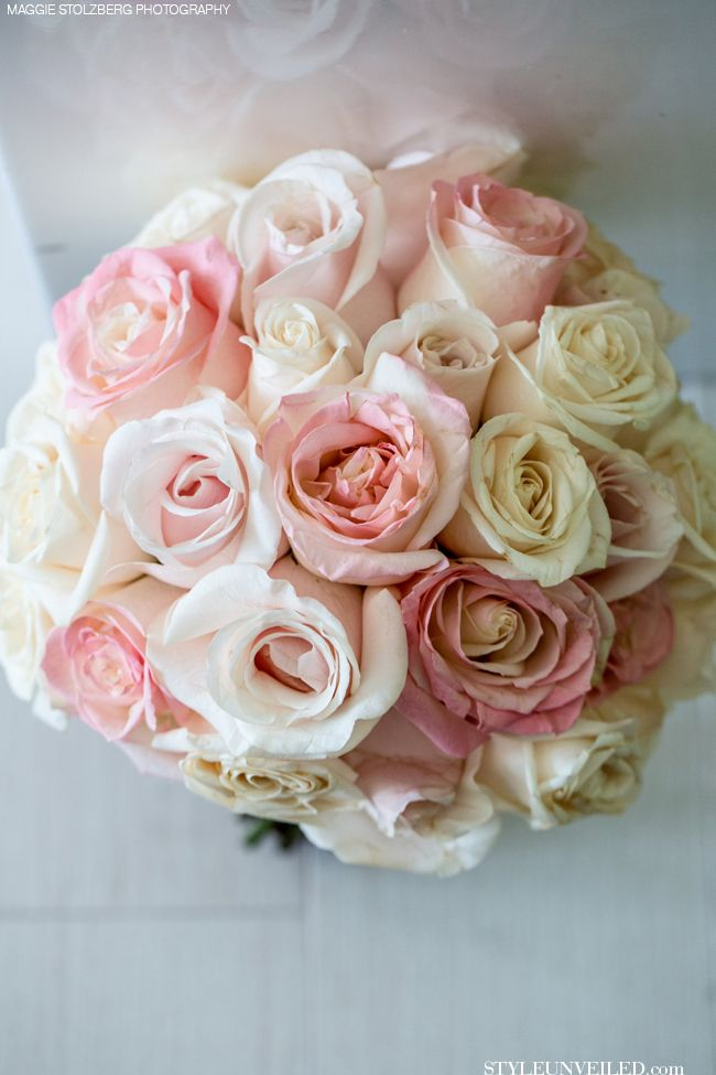 Light Pink Roses Wedding Bouquets : Style unveiled a wedding light
