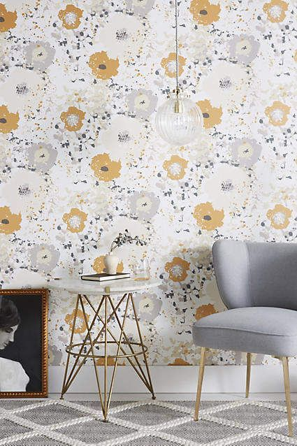 Anthropologie Spontaneous Wallpaper Scandinavian Design