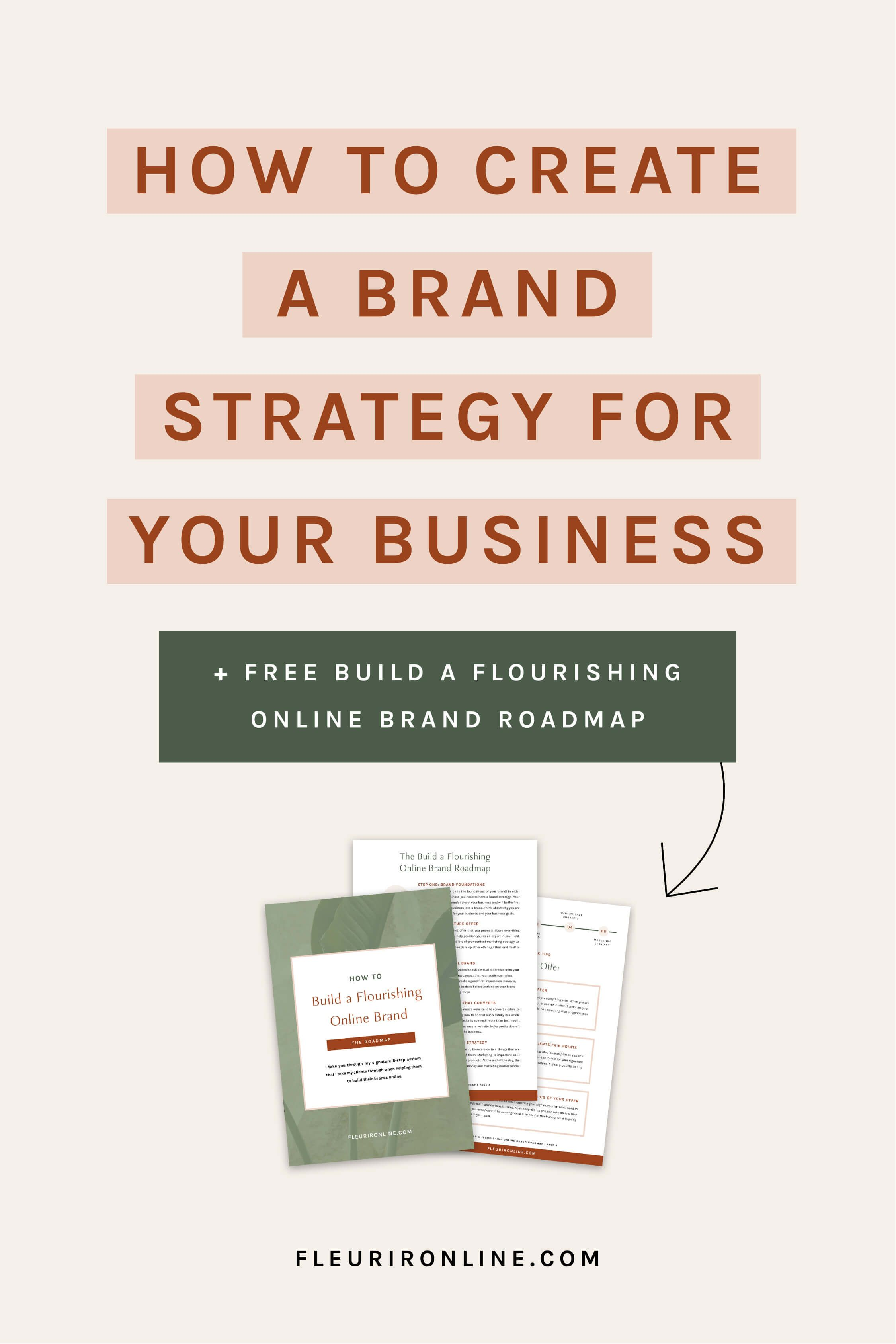 4 Essential Elements To Building A Solid Brand Strategy Fleurir Online In 2020 Brand Strategy Business Branding Branding Your Business