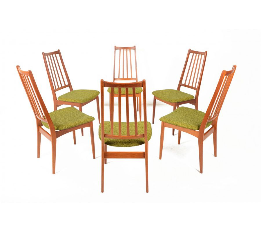 SET OF SIX DANISH MODERN HIGHBACK TEAK DINING CHAIRS    Http://www.midcenturymobler.com/set Of Six Danish Modern Teak Highback  Dining Chairs/ | Pinterest ...